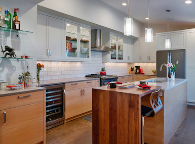 Kitchen Cabinets, Newly Remodeled