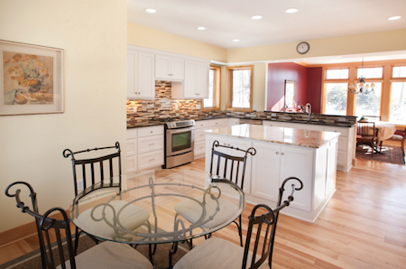 Remodeled Kitchen & Cabinets