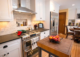 Custom Cabinetry in a Remodeled Kitchen