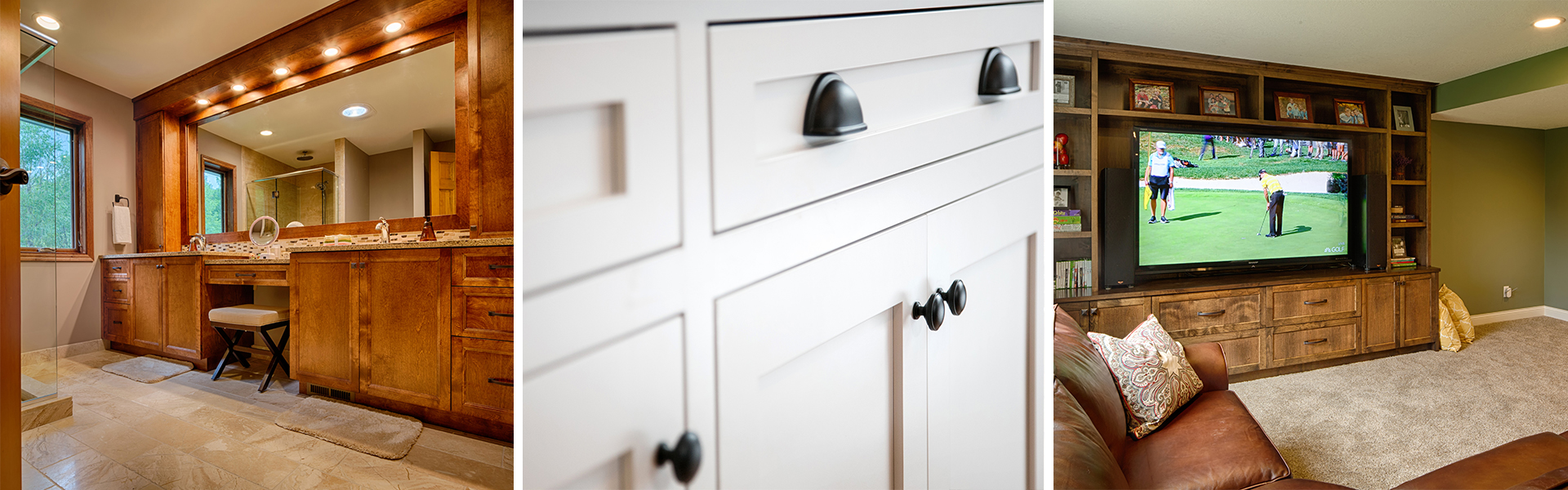 Custom Cabinets and Drawers