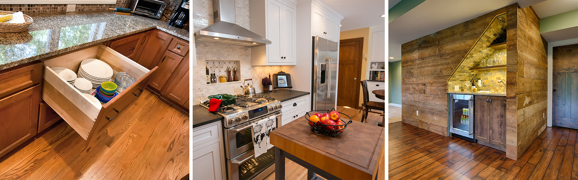 Custom Cabinets and Luxurious Kitchen Design in a Home