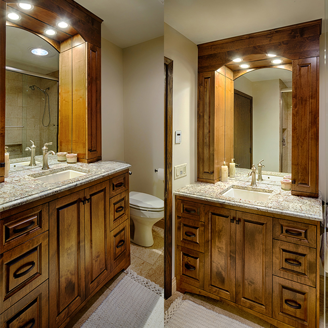 New Home Goodell Bathroom Remodel