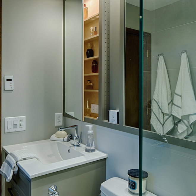 New Home Goodell Bathroom Remodeling After Picture