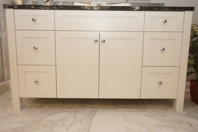 Bathroom Remodel _ Custom Cabinets