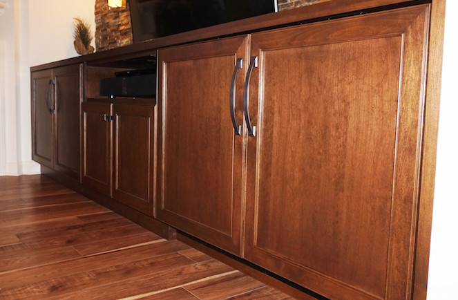 Custom Cabinet Remodeling Project