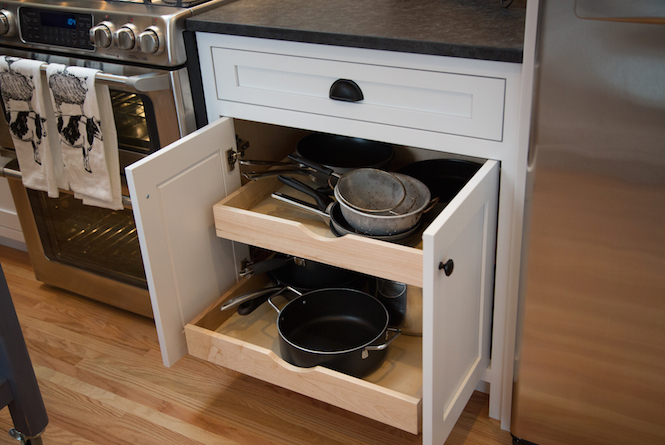 Custom Cabinetry Project in a Kitchen