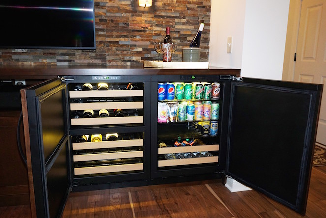 Custom Snack Cabinets