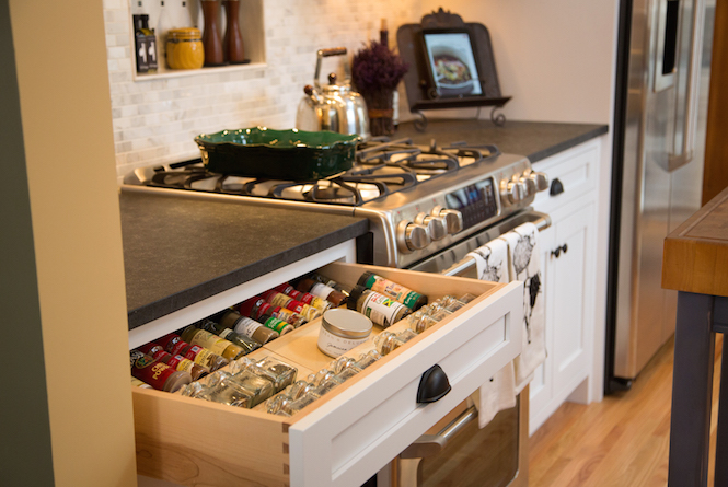 Ultimate Kitchen Organization and New Custom Cabinets