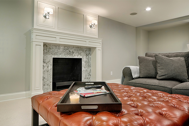 Redesigned and Remodeled Living Room