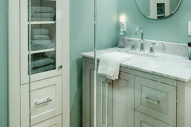 Remodeled Bathroom in Edina, Kellogg
