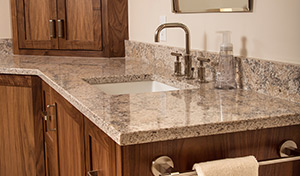 Newly Installed Granite Countertop