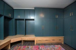 Custom Mudroom Storage Cabinet